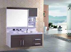 早上洗头不再难 带花洒浴室柜安装方法