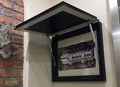 多功能配电箱装饰画 让你家墙壁颜值一涨再涨