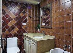 瓷砖颜色多又多 装饰风格要选择