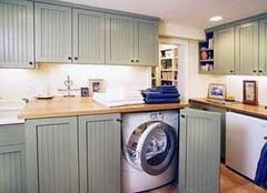 巧藏洗衣机 洗衣机就是要这么摆