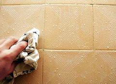 不同的区域 不同的瓷砖清理