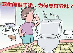 卫生间很干净为什么还有异味?找对卫生间异味源头很关键