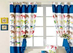 怎样选购儿童窗帘 让家居充满意境美