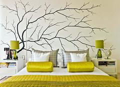 沙发手绘墙制作方法 自己动手更有意义