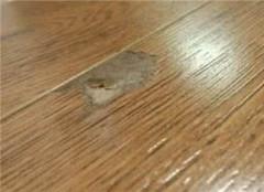 木地板破损如何修补 不能一言不合就换地板