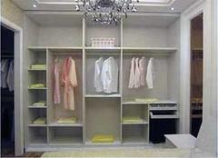 开放式衣柜优缺点 小户型衣柜新潮流