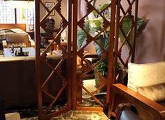 客厅榆木屏风的优点 打造完美家居