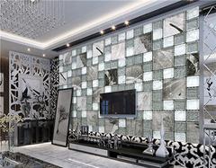 客厅马赛克背景墙安装固定 给你全新视觉享受