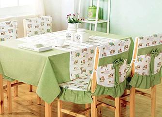 餐桌椅垫的种类与清洗小知识