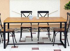 定制餐桌椅这三点注意事项一定要记住