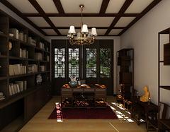 经典中式书房构成部分有哪些? 经典中式书房设计有哪些要求?