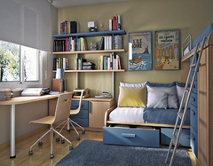 儿童书房搭配要点介绍 为您的孩子打造一个活力空间