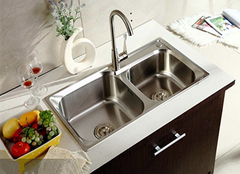 不同厨房水槽设计款式 方便又实用!
