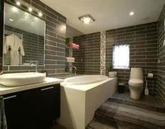 美式复古风格卫浴间装修案例 带你感受另类卫浴间