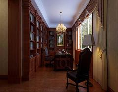 整体组合书房家具有什么优点? 为您的小书房节省空间