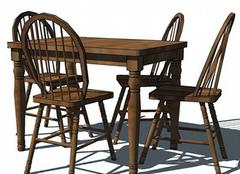 四人餐桌椅选择有技巧 家人关系更融洽