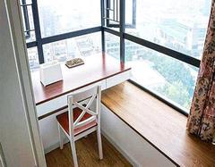 阳台装修成书房注意什么? 只需注意四大要点