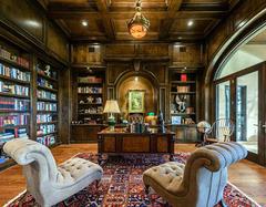 客厅敞开式书房怎么设计? 你家也可以拥有小书房