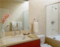 卫生间小怎么装修才能显大 这样做就对了