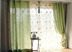如何购买适宜的窗帘布艺 花色很重要