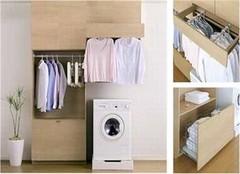 日本精细化家装之家务间设计 轻松搞定家务活儿