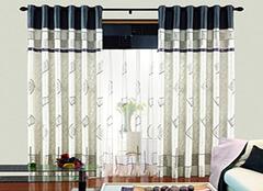 布艺窗帘选购小诀窍 打造家居更舒适