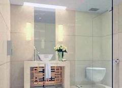 无窗卫生间通风秘诀 专为打造舒适卫浴