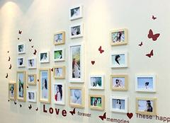 照片墙最美设计方案 家中最温馨的一角
