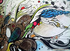 儿童房墙体彩绘搭配技巧介绍 教你搭出好色彩