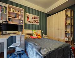 儿童房卧室书房定制化装修案例鉴赏