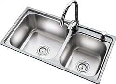 厨房水槽单双槽解析 让烹饪更顺畅