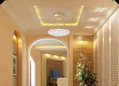 玄关吊顶设计要点 让你进门便拥有不一样的感觉