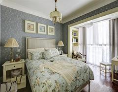 小户型田园风空间装修 带你领略不同卧室