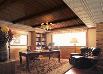书房吊顶设计要点 为你打造宁静书房
