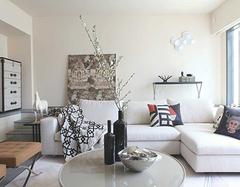 小户型客厅布置沙发有说法 这样省了好多空间
