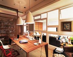 客厅开放式书房有什么优点? 客厅开放式书房怎么设计?