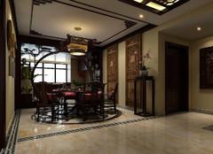 中式餐厅吊顶设计元素 你get到重点了没?