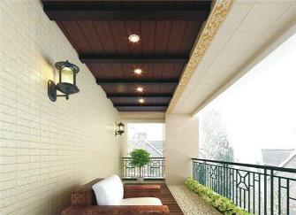 阳台生态木吊顶安装步骤 你家阳台是这么装的吗?
