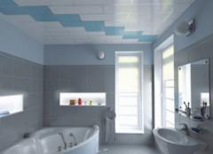 卫浴吊顶颜色搭配技巧 颜色就是要这么配!