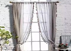 窗帘材质选购注意技巧 用户体验度高