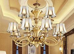 客厅灯饰怎么选择才能让家其乐融融