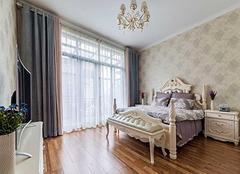 卧室窗帘设计及选购 让卧室充满艺术气息