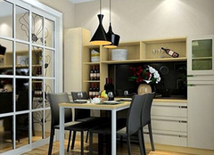 餐边柜应该如何搭配设计 打造独特餐厅空间