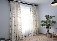 女孩选择卧室窗帘注意哪些要点 简约又时尚