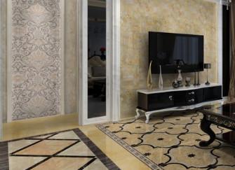 客厅地砖尺寸选择方法 由这三方面决定