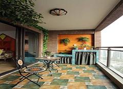 阳台墙砖怎么选 拥有舒适小天地