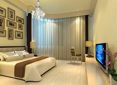 卧室窗帘选购要考虑的因素 简单不单调