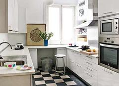 合理安装橱柜设计让厨房变更大 再也不喊厨房小了
