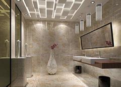卫生间瓷砖色彩怎么搭 这些搭配原则要知道
