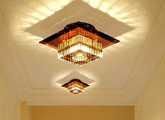 走廊灯设计的三个小诀窍 设计师一般不外传